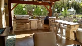 outdoor kitchen and patio outdoor kitchens tx decks pergolas
