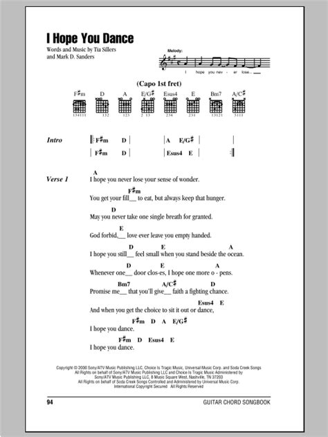 buy me a boat ukulele chords i hope you dance by lee ann womack guitar chords lyrics