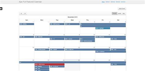 P Calendar Ajax Jquery Ajax Complete Phpsourcecode Net