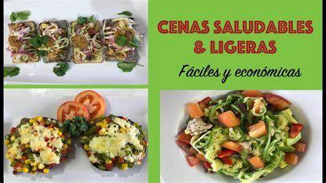 recetas de cocina faciles y economicas para cenar cenas saludables f 225 ciles y econ 243 micas youtube