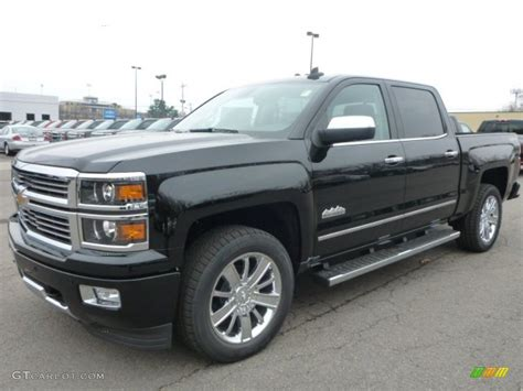2015 silverado colors 2015 black chevrolet silverado 1500 high country crew cab
