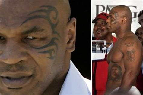 mike tyson tattoo meaning meanings