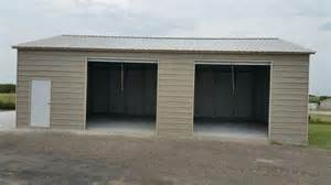 How To Build A 2 Car Garage by 2 Car Metal Garage American Steel Carports