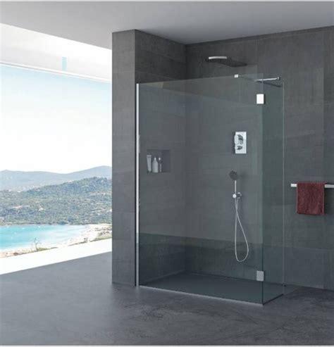 doccia a parete parete doccia quot elvira quot profili in acciaio inox