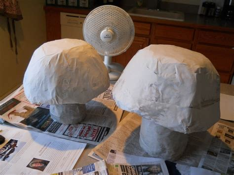 Steps In Paper Mache - paper mache l 183 how to make a decorative light