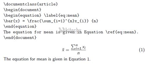 Tutorial Latex Formula | latex equation by microsoft awarded mvp learn in 30sec