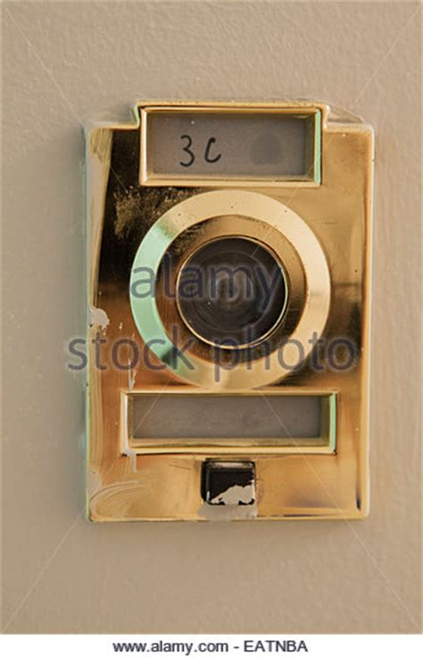 nyc apartment surveillance camera peephole stock photos peephole stock images alamy