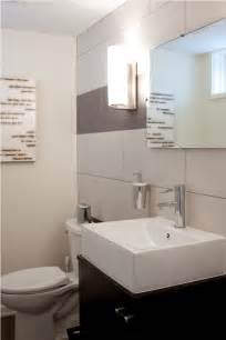 Half Bathroom Design by Gallery For Gt Contemporary Half Bathroom