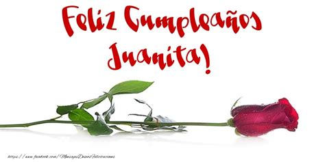imagenes feliz cumpleaños juanita juanita felicitaciones de cumplea 241 os