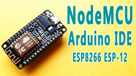 tutorial esp8266 arduino ide esp8266 tutorial programming nodemcu esp 12e using