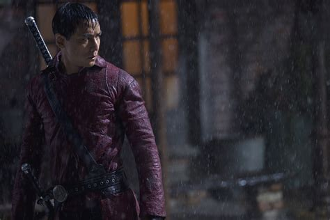 into the badlands into the badlands review amc s drama tries western wuxia