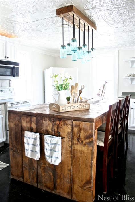 Farmhouse Kitchen Island Lighting 7 Chic Diy Chandeliers To Brighten Your Classic Home