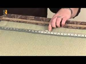 tacking strips for upholstery how to use ply grip youtube reupholster slipcover