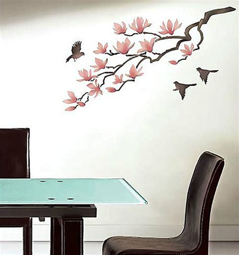sticker stencils for walls magnolia wall stencil reusable stencils for diy decor better than wall decal ebay