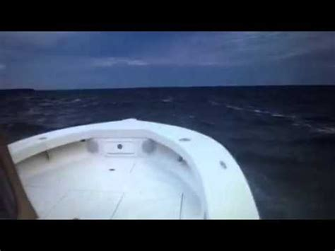bay boats in rough water layton bay boat 50 mph rough water youtube
