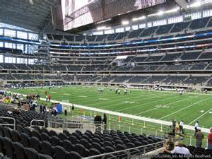 Bowl Section F2 by At T Stadium Section 129 Seat Views Seatgeek