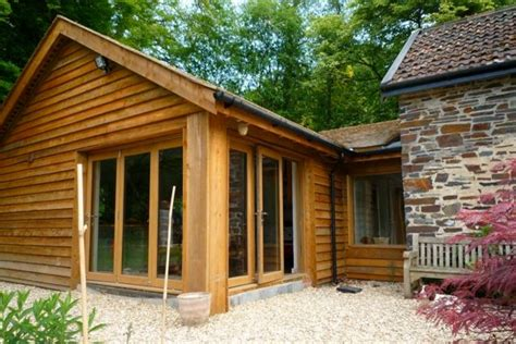Home Gym Interior Design Country Contemporary Timber Clad Extension Traditional