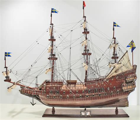 gustav vasa ship wooden ship model wasa 95cm id76 buy your ship model by