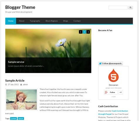 drupal themes not working blogger theme free drupal theme freedownload web