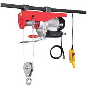 2000 lb electric hoist with remote