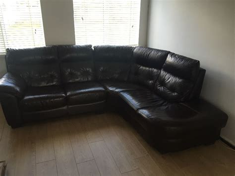 Dfs Sale Sofas by Dfs Leather Corner Sofa In Netley Hshire Gumtree