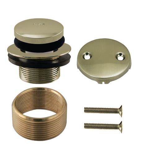 bathtub drain cover home depot moen tub and shower drain covers in polished brass t90331p