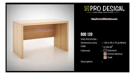 Meja Biro Kombinasi Warna meja kantor 1 2 biro bod 120 batavia pro design
