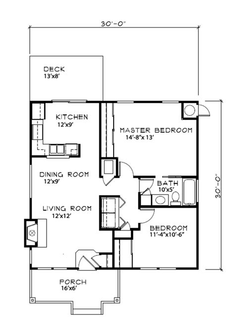 900 sq ft house cottage style house plan 2 beds 1 baths 900 sq ft plan