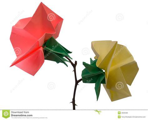 imagenes de flores origami flores de origami imagen de archivo imagen de cultura