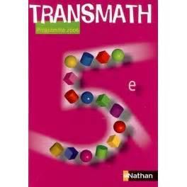 libro transmath 5e transmath 5e manuel 2006