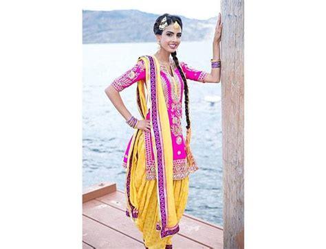 punjabi grls suit long hair 5 new style of punjabi suits made by punjabi women