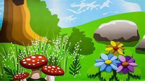 kartun taman sekolah creativehobbystore