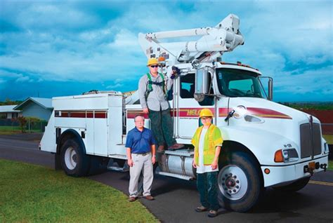 hawaii island electric company telematics improves safety for hawaiian utility articles
