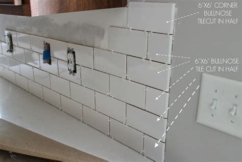 Installing Ceramic Wall Tile Kitchen Backsplash by Duo Ventures Kitchen Makeover Subway Tile Backsplash