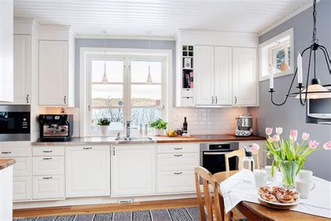 white and wood kitchen white and wood in the kitchen adorable home