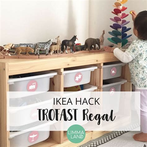 trofast kinderzimmer ideen kreative ikea hacks mit der trofast serie f 252 r kinder