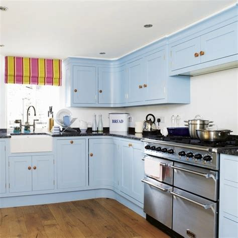 light blue paint colors for kitchen 50 modern country house kitchens kitchen design rustic