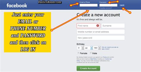 fb new facebook new account sign in www fb com login