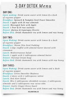 Danette May Detox by Danette May S Portion Guidelines For With
