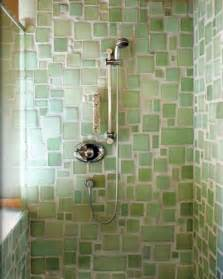 Bathroom Recycled Glass Tiles The Best Eco Friendly Bathroom Tile Apartment Therapy