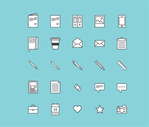 minimalist icons 20 of the best free minimalist icon sets designfreebies