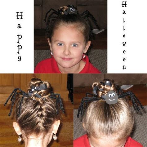 halloween nurse hairstyles halloween hairstyles the spider hairstyles for girls