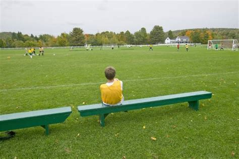 sitting on the bench youth athletes on the bench it s not always a bad thing