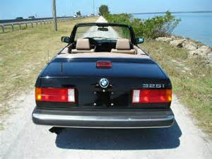 88 Bmw 325i 88 Bmw 325i Convertible For Sale