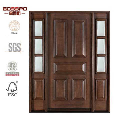 puerta de entrada madera estilo americano entrada principal puerta de madera puerta