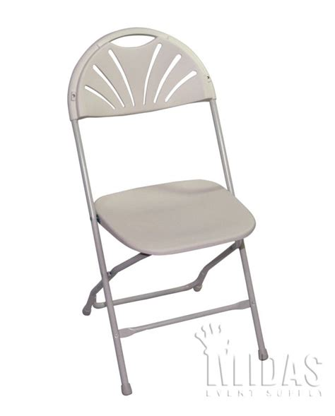 White Wedding Chairs by Chairs Ch Plastic Steel Folding Ch Fanback