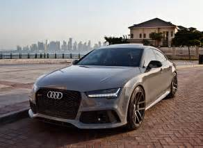 Audi Rs7 2017 Audi Rs7 Sportback 1 Of 1 Special Order Nardo Gray