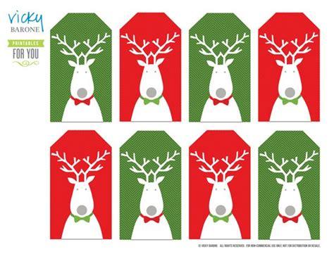 printable reindeer christmas tags free downloadable holiday gift tag pdf for the home