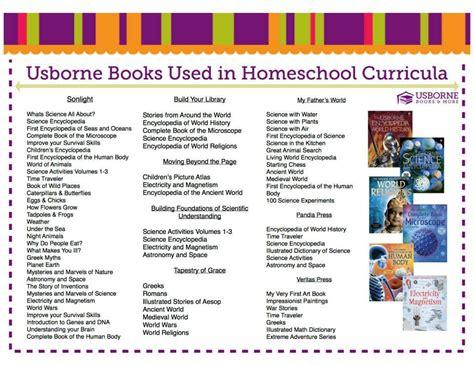 the best homeschool curriculum usborne booklist match ups to various homeschool