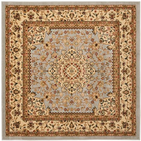 5 foot square rug safavieh lyndhurst gray beige 5 ft x 5 ft square area rug lnh213g 5sq the home depot